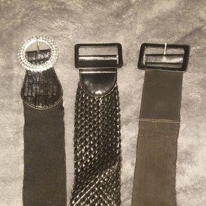 Thick waist belts